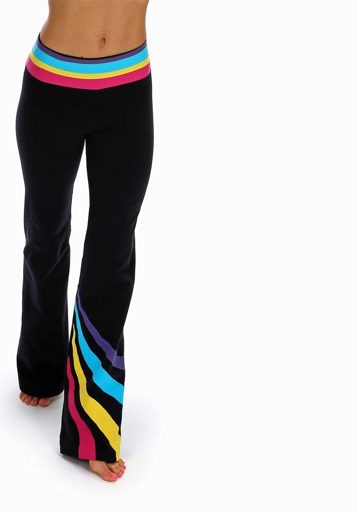 Margarita Rainbow Twist Pants - REDUCED! | Daisy Fitness Wear