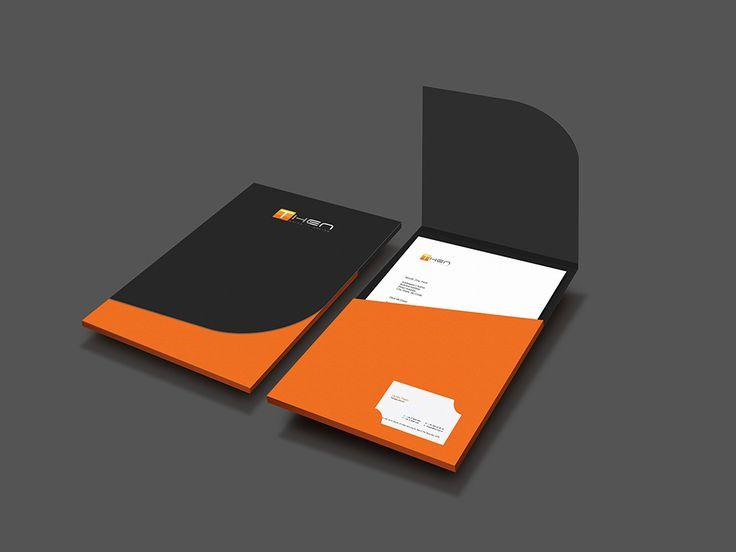 21 best Folder Design images on Pinterest Visit cards, Business - resume folder