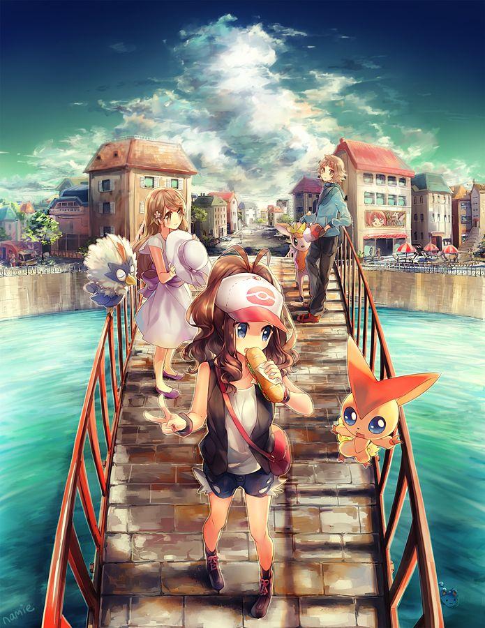 Here's some amazing Pokemon digital art. Across by Namie-kun.deviantart.com on @deviantART
