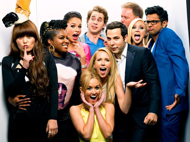 MTV Movie Awards Photo Booth Pictures: Stars Strike a Pose!: Pitch Perfect Cast
