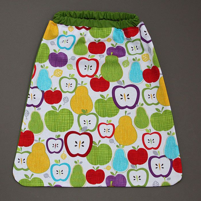 Serviette de table de cantine enfant lastique fruits - Serviette de table pour cantine ...