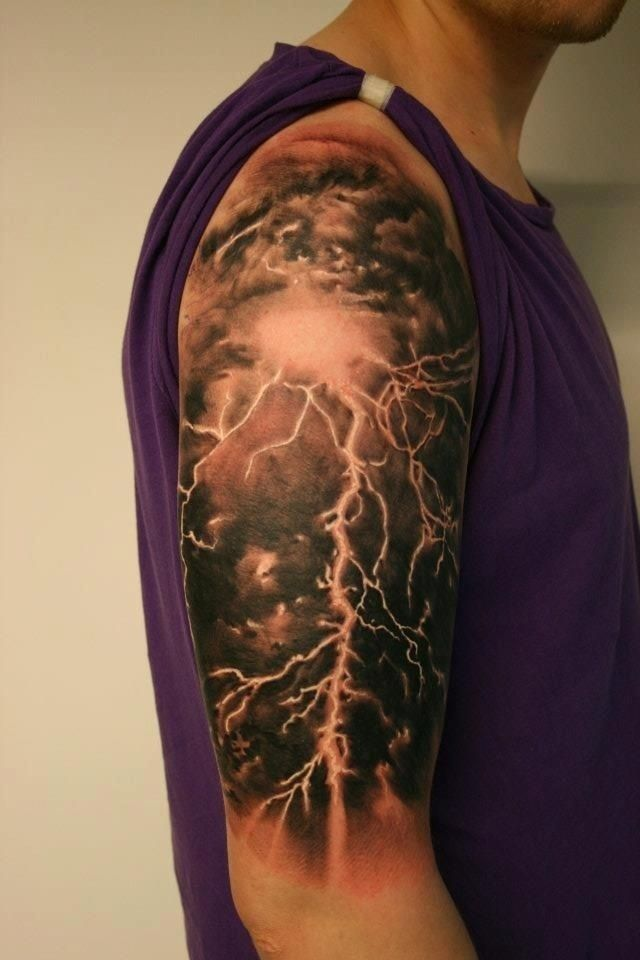 lightning tattoo #ink #tattoo