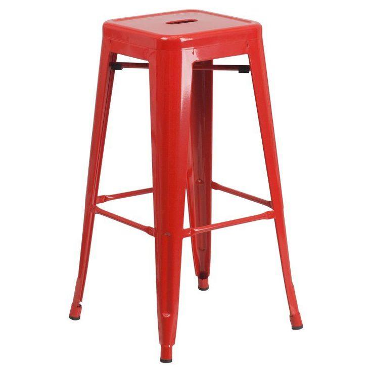 Flash Furniture Jameson 30 in. Metal Bar Stool