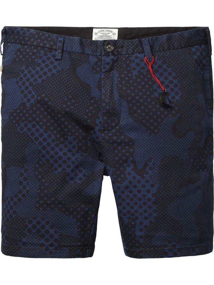 Cotton Chino Shorts |Short pants|Men Clothing at Scotch & Soda