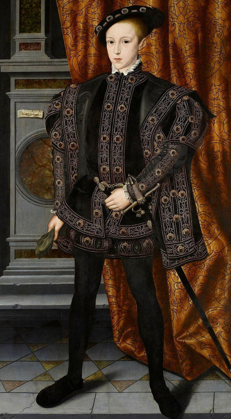 Уильям Скротс (1537–1553)   Эдуард VI - король Англии и Ирландии, сын короля Генриха VIII