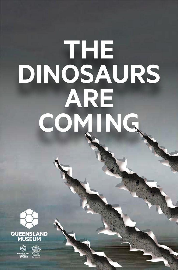 The Dinosaurs are coming to the Queensland Museum. 27 March - 5 October 2015.