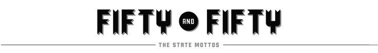 The state mottos done by different designers/firms/agencies. Some REALLY awesome #typography and #design in these.