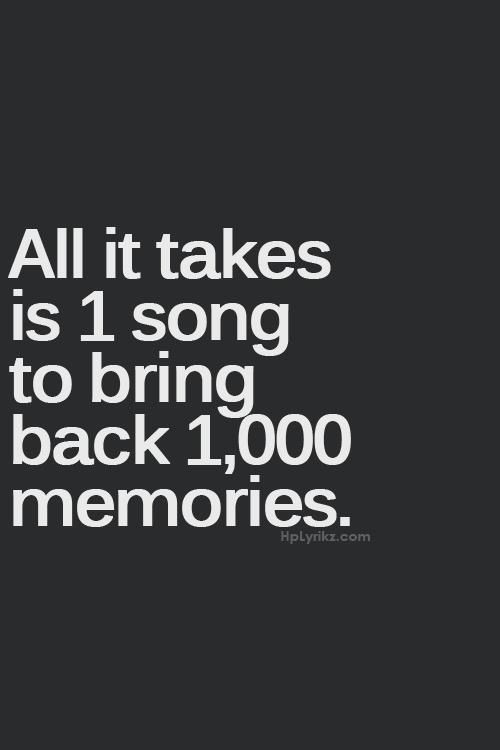 Music is a wonderful thing!