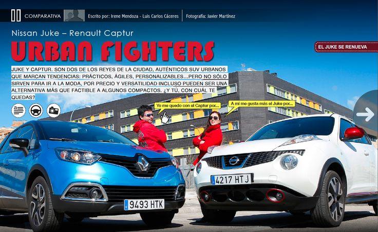 Duelo de SUVs urbanos: #Nissan Juke vs Renault Captur:  -- http://www.motorlife.es/revista/41