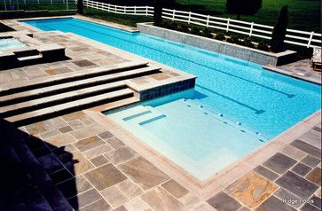 Concrete Paver Coping Design Ideas, Pictures, Remodel, and Decor - page 33