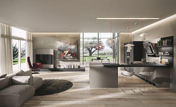 La cucina è uno spazio da vivere Ak06 Ariital Cucine מטבחי אריטל איטליה