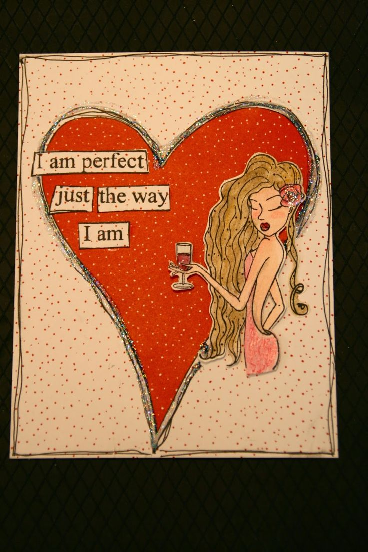 Lynne's Art World: Another Different Kind of Valentine!