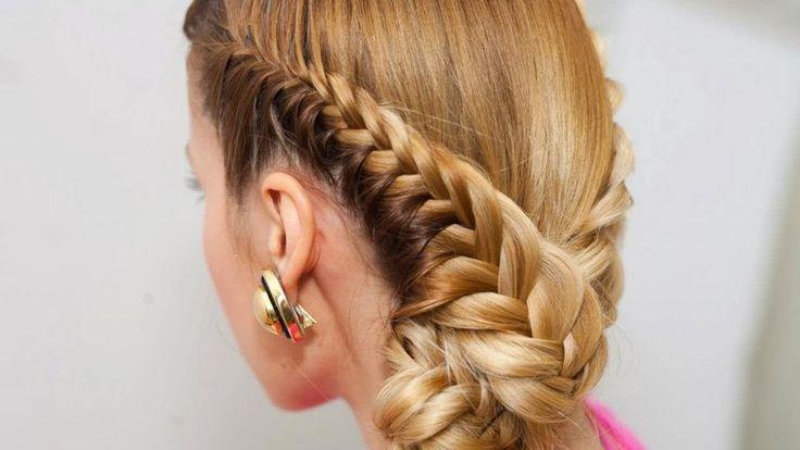 Модные прически с косами на длинные волосы (2 часть)
