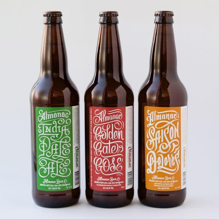 Almanac Beer Co. 22oz Family – Erik Marinovich –Friends of Type