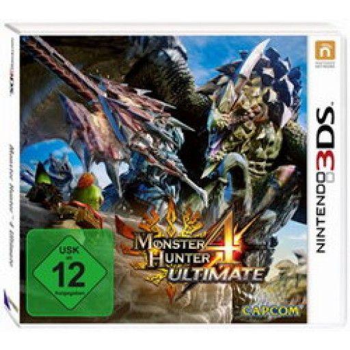 Monster Hunter 4 Ultimate  3DS in Actionspiele FSK 12, Spiele und Games in Online Shop http://Spiel.Zone