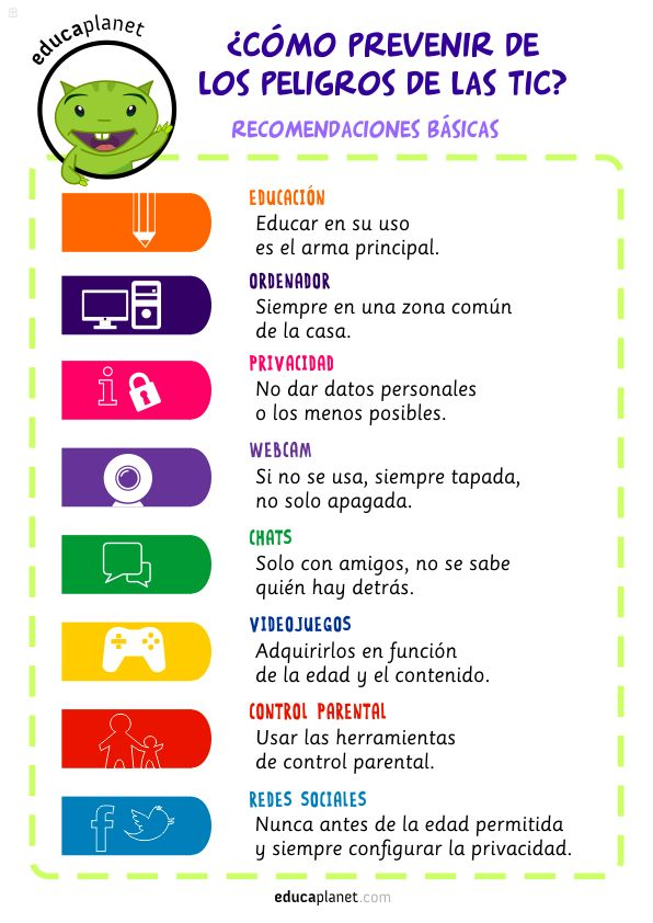 Educa a tus hijos en el uso de las tecnologías de la información y evita los peligros de la red