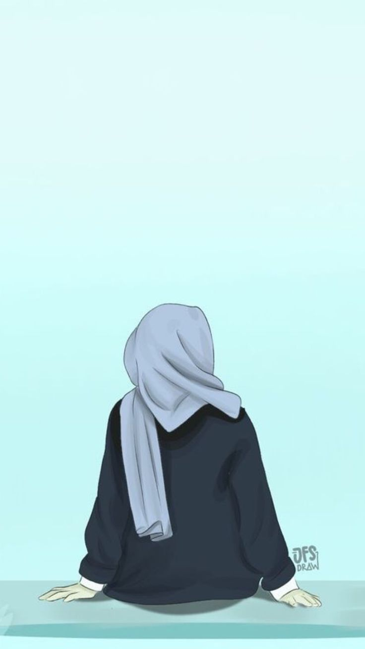 Badassgirlsquotes Wallpapers For Girls Girlywallpapers Badassgirlsquotes Hijab Cartoon Hijab Drawing Islamic Cartoon