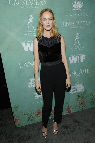 Heather Graham attends the Women In Film Pre-Oscar Cocktail Party presented by Max Mara and BMW.