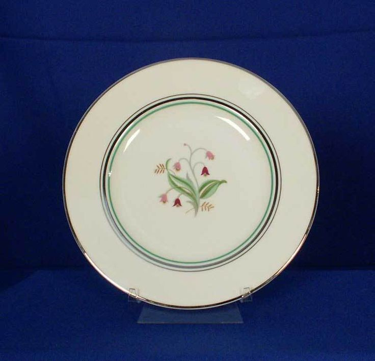 Syracuse USA Old-Ivory Coralbel Pattern Salad Plate bfe2318 #Syracuse
