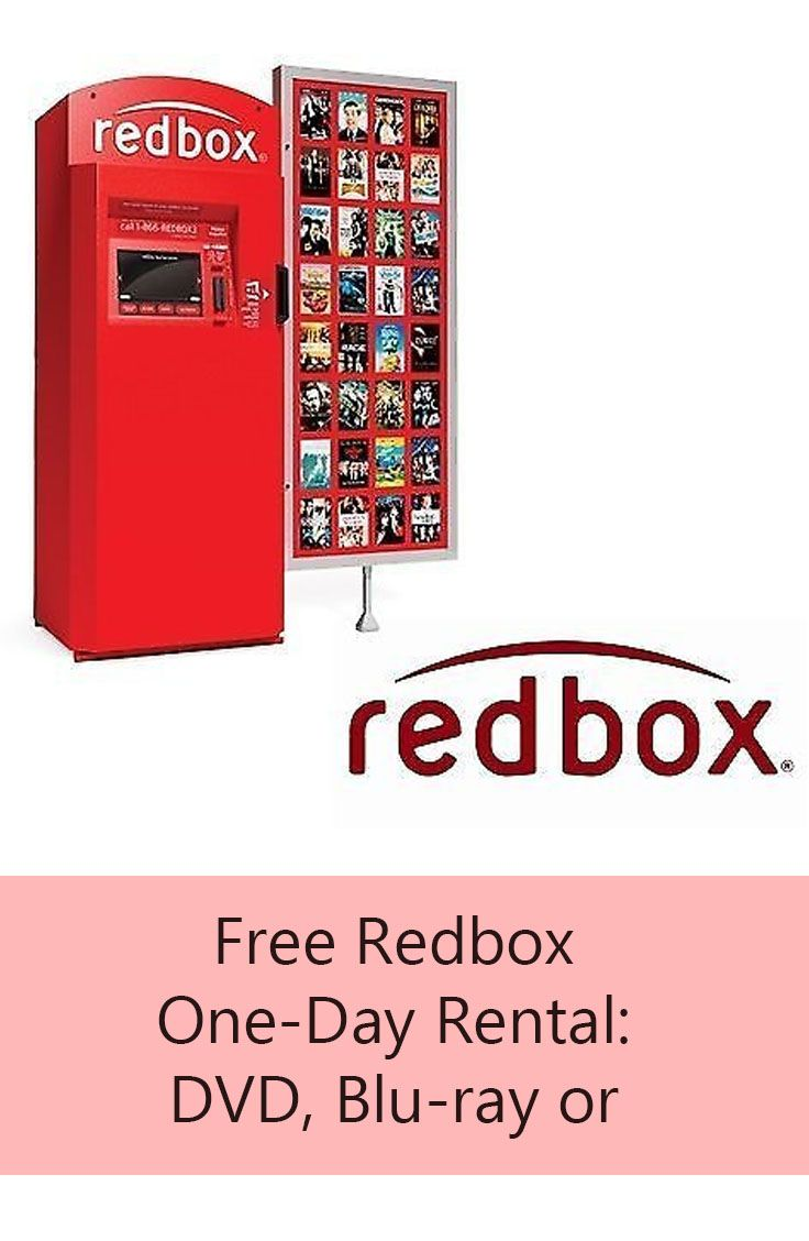 <b>Redbox</b> One-Day Rental: DVD, Blu-ray or Video <b>Game</b>   <b>Redbox Codes</b> ...