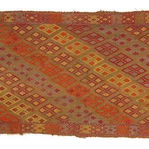 Konya Kilim Rug, Central Anatolia, Turkey - Decorative Collective