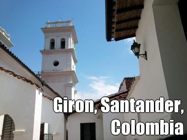 Giron, Santander, Colombia (courtesy of @Pinstamatic http://pinstamatic.com)