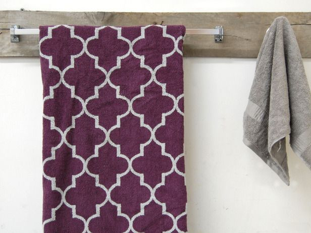 How to Create a Rustic Towel Bar