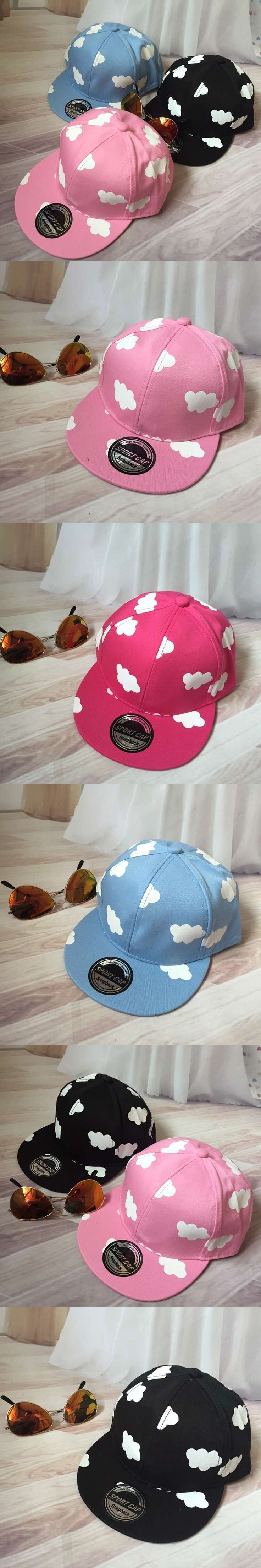wholsale Brand Adult&Kid Baseball Caps Children Snapback Girls Clouds Print Kids Cap Hip Hop Hats For Boys Sun Hat Summer