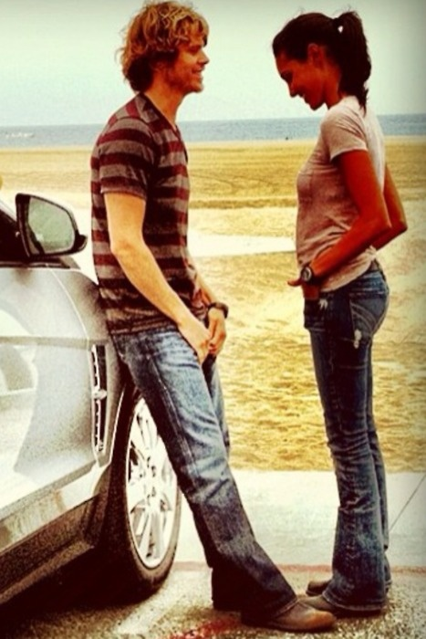 Deeks and Kensi from NCIS:LA #adorable