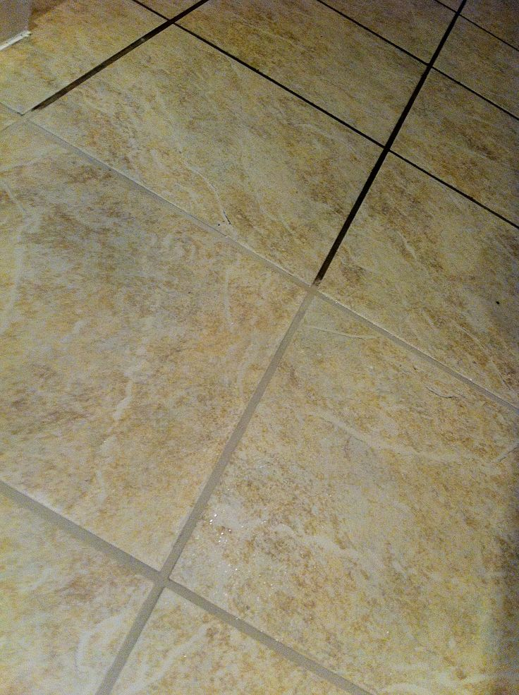 how to clean scuff marks off tile floors