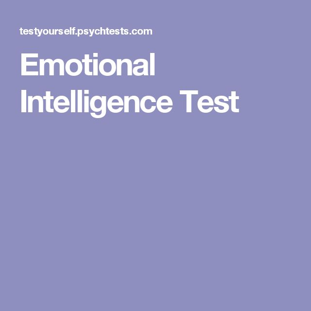 free emotional intelligence test pdf