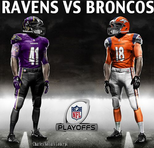 BRONCOS VS RAVENS.... LETS GO BRONCOS!!!!,