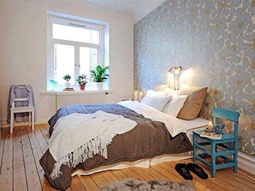 Slaapkamer behang ideeën