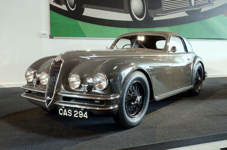 """Alfa Romeo 6c 2500 SS """"Trossi"""" Coupé by Touring (1942)"""