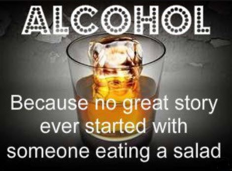 alcohol start great stories