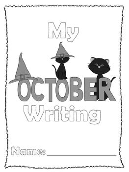 This writing journal includes 20 different writing prompts for students to practice their writing skills throughout the month of October! Can be used as an independent station or could be used during a guided writer's workshop.Writing prompts include expository, narrative, and persuasive writing samples to ensure that your students are practicing different types of writing.