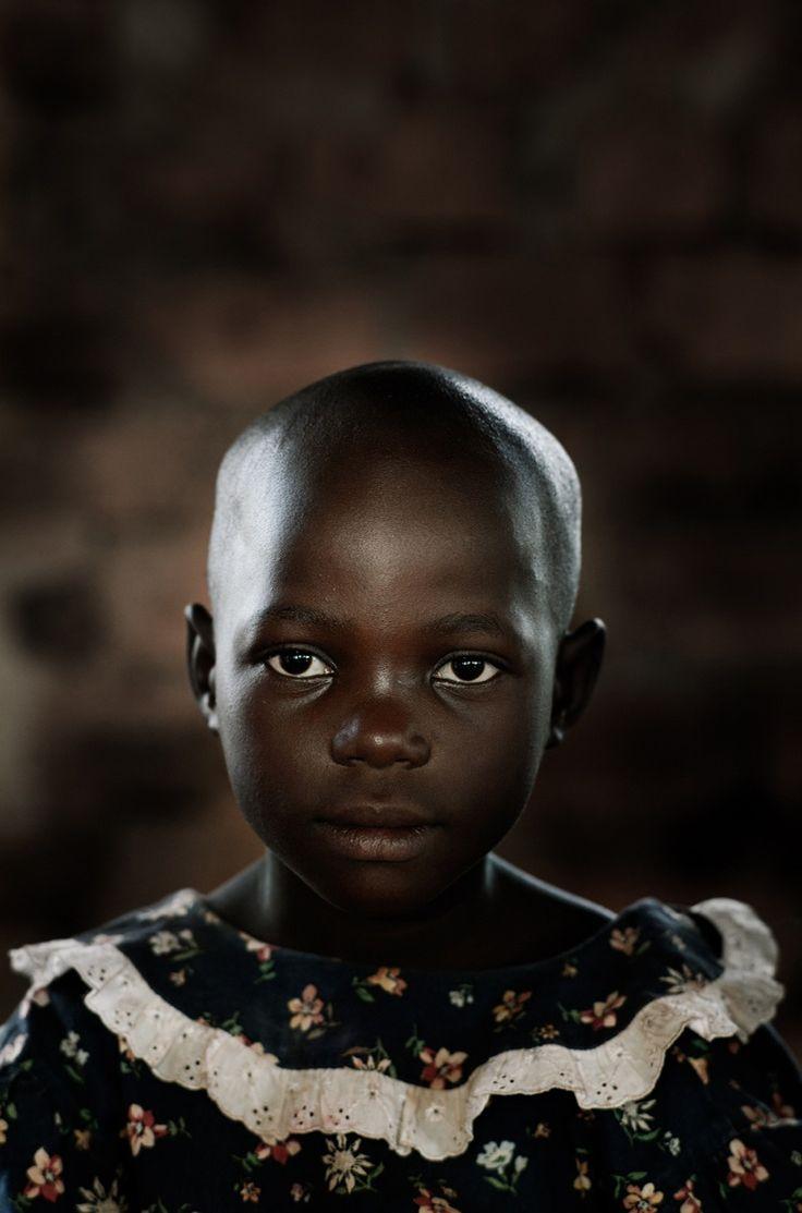 Ian Winstanley children's portraits from Uganda for World Vision