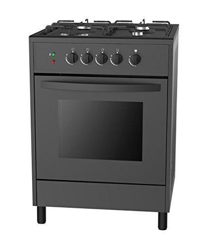 24″ Slide-In Free Standing Gas Range 4 Italy Sabaf Sealed Burner Cooktop with 2.3 Cu. Ft Single Oven