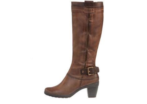 botas mujer Pikolinos marrón ante