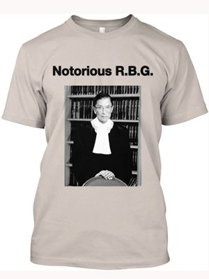 At Long Last, A Tumblr Devoted To Ruth Bader Ginsburg #Refinery29 GET THIS SHIRT ON MY BODY