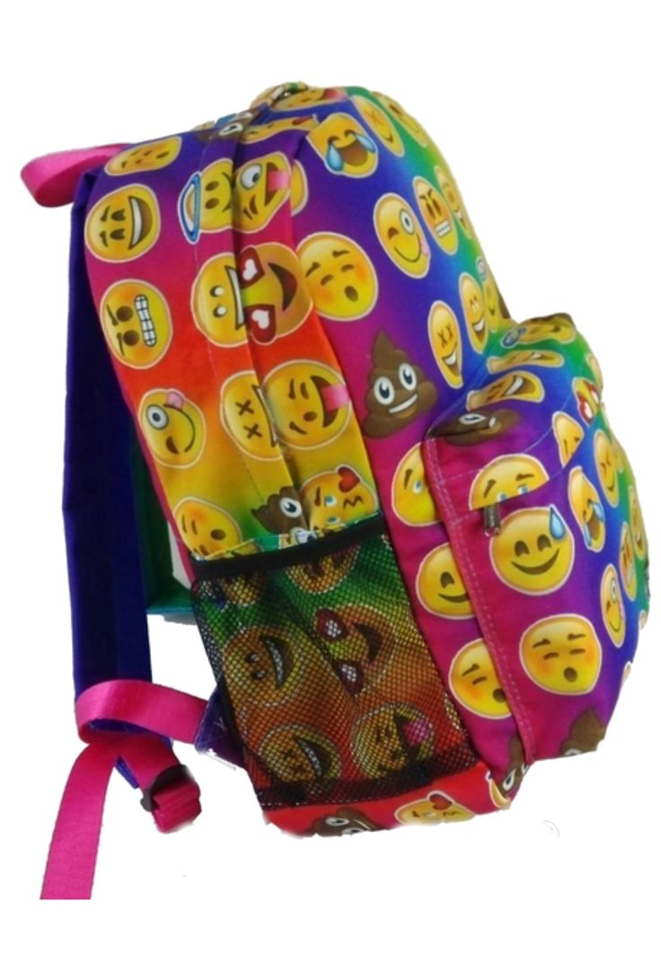 Top Trenz Tie-Dye Emoji Backpack