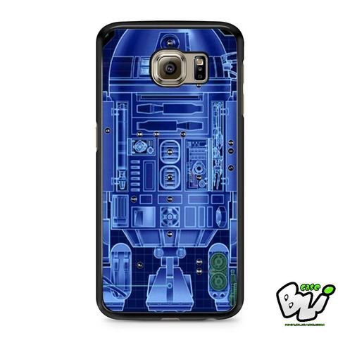 R2d2 Robot Sketch Before Samsung Galaxy S6 Case