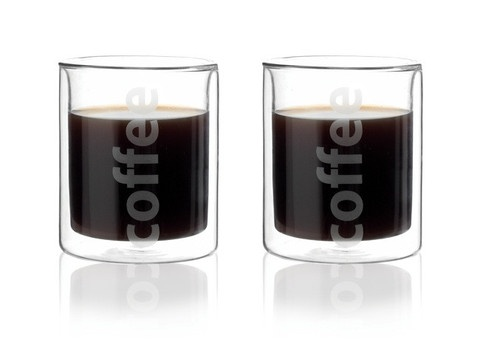 Viva Scandinavia Coffee Glasses -- a break from the traditional mug!