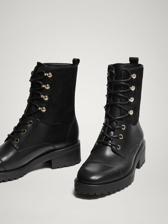 c956d7e589ec Zapatos de mujer | Massimo Dutti Rebajas Invierno | boots in 2019 ...