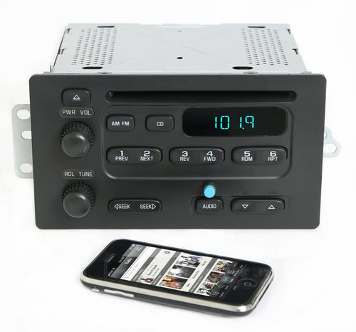 Chevy Express Van Savana 2003-07 Radio AMFM CD Player w Bluetooth Music 93801884