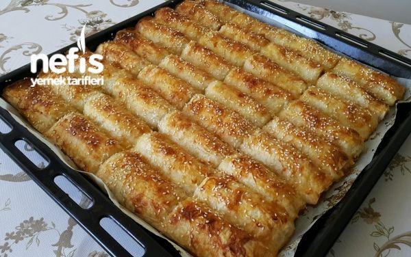 Baklava Yufkasıyla Patatesli Börek