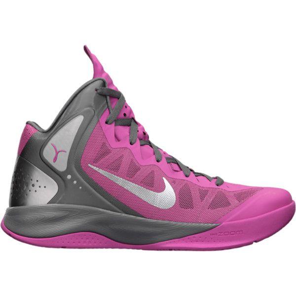 Nike Zoom Hyperenforcer PE Women\u0027s Basketball Shoes - Pinkfire, 10 ($92) ?  liked
