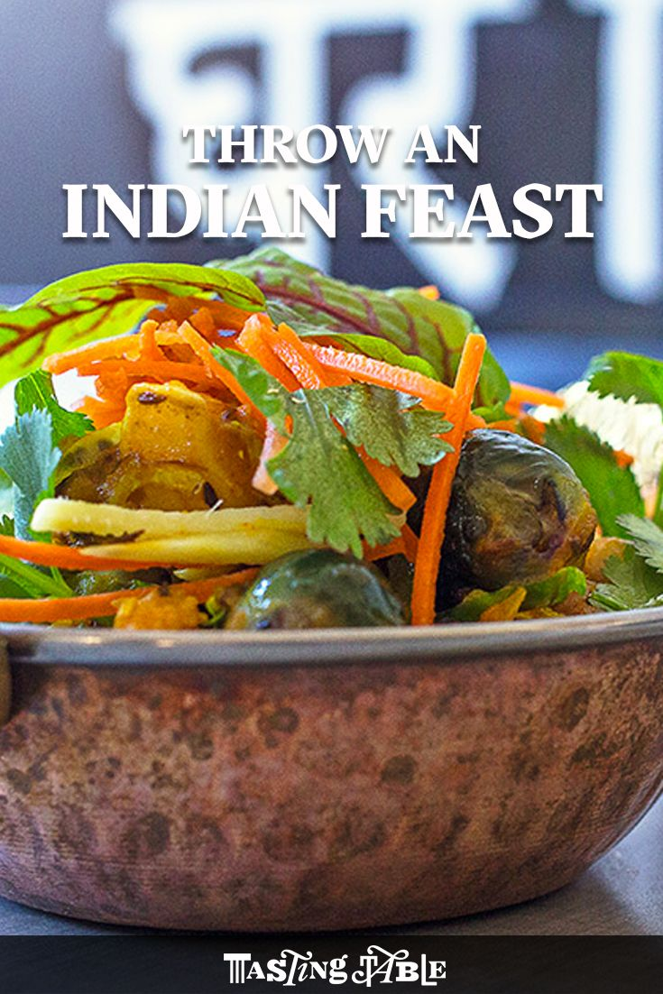 A Modern Twist On The Classic Indian Vegetarian Side Of Turmericspiked  Potatoes And Cauliflower
