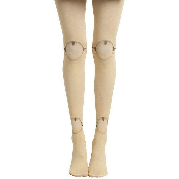 Blackheart Doll Leg Tights Hot Topic ($10) ❤ liked on Polyvore featuring intimates, hosiery, tights, nylon tights, tan stockings, nylon pantyhose, nylon hosiery and tan tights