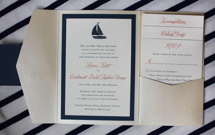 Sailboat Wedding Invitations: 25+ Best Ideas About Nautical Wedding Invitations On